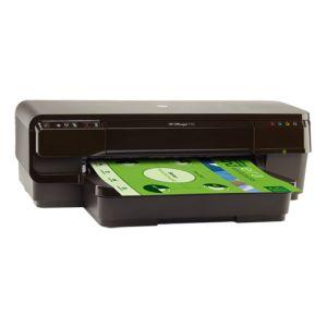 Струйный принтер HP OfficeJet 7110 WF чёрный струйный принтер hp officejet 7110