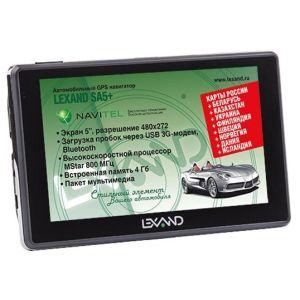 GPS навигатор Lexand SA5+ gps навигатор lexand sa5