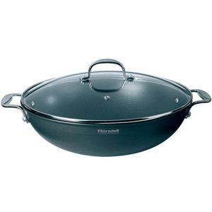 Сковорода Rondell 114 Вок с/кр 32 см 4,6 л вок с крышкой 32см 4 6л rondell wok 114rda