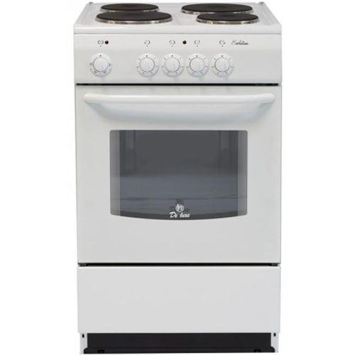 Электрическая плита De Luxe 5004.12э белый за 9990 руб.