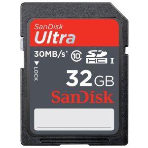 Карта памяти SanDisk SDHC 32Gb Class 10 (SDSDU-032G-U46)