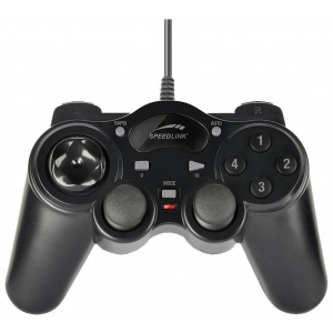 Проводной геймпад для ПК Speedlink THUNDERSTRIKE SL-6515-BK чёрный