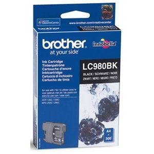 Картридж для струйного принтера Brother LC980 BK картридж для струйного принтера brother lc567xlbk