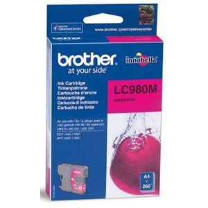 Картридж для струйного принтера Brother LC980 Magent картридж для струйного принтера brother lc567xlbk