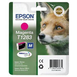 Картридж для струйного принтера Epson Stylus T1283 I/C magenta картридж для принтера и мфу epson c13t00940110 colour