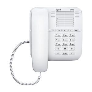 Телефон проводной Gigaset DA410 белый проводной телефон gigaset da410 черный