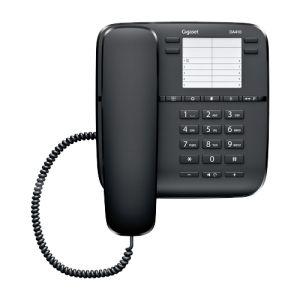Телефон проводной Gigaset DA410 чёрный проводной телефон gigaset da410 черный