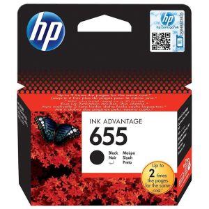 Картридж для струйного принтера HP №655 черный картридж для принтера hp cz110ae 655 cyan ink cartridge
