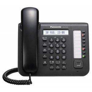 VoIP-телефон Panasonic KX-DT521RUB voip телефон panasonic kx tpa50 kx tpa50b09