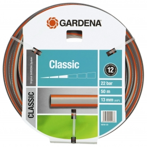 Шланг садовый Gardena Classic 1/2 50м (18010-20.000.00) шланг gardena classic 1 2 50м 18010 20 000 00