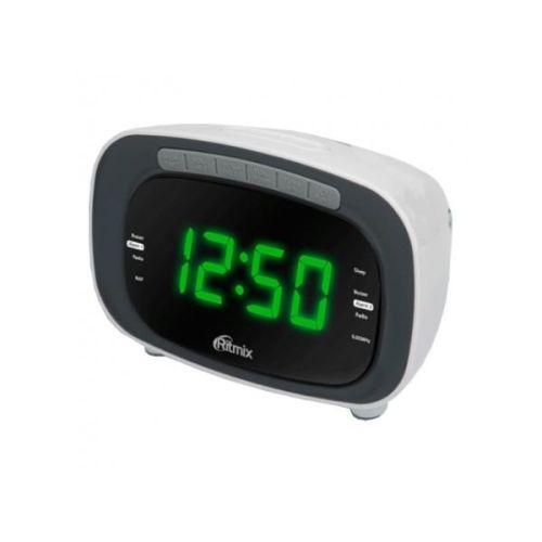 Купить со скидкой Радиоприемник с часами Ritmix