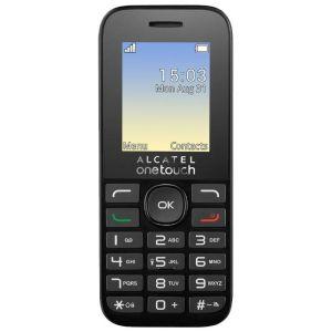 Мобильный телефон Alcatel One Touch 1020D чёрный стоимость