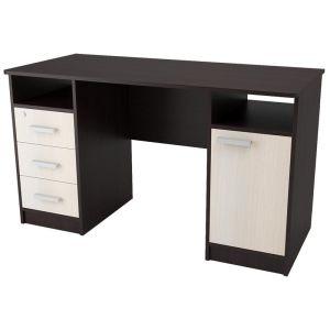 Стол компьютерный Аквилон Хит-4 венге/дуб млечный мебель хит рф