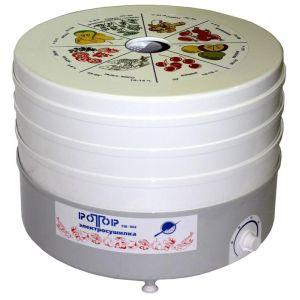 Сушилка для овощей и фруктов Ротор СШ-002-06 белый
