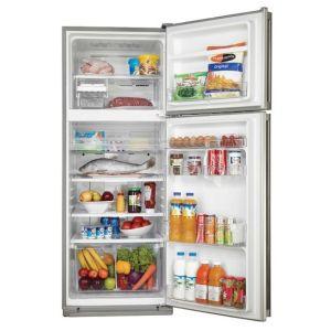 Холодильник Sharp SJ-58CST нержавеющая сталь холодильник с морозильной камерой sharp sj b236zrwh