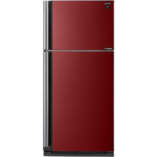 Холодильник Sharp SJ-XP59PGRD чёрный/красный
