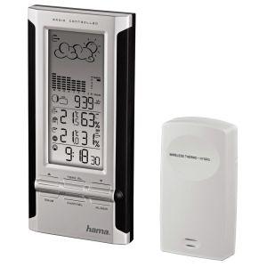Метеостанция HAMA EWS-380 серебристый/черный