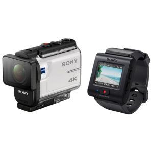 Экшн-камера Sony FDR-X3000R белый видеокамера sony fdr ax33b