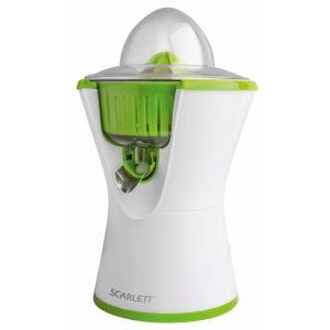 Соковыжималка Scarlett SC-JE50C03 белый/зеленый увлажнитель воздуха scarlett sc ah986m06 белый зеленый