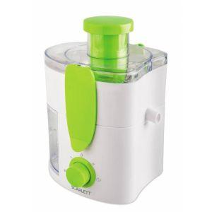 Соковыжималка Scarlett SC-JE50P01 белый/зеленый увлажнитель воздуха scarlett sc ah986m06 белый зеленый