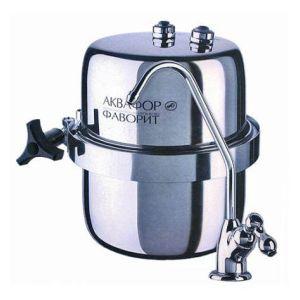 Фильтр для воды Аквафор B150 Фаворит серебристый фильтр для очистки воды аквафор фаворит в150 5
