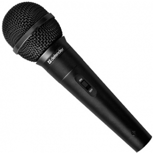 Микрофон Defender MIC-129 микрофон defender mic 115 1 7m black 64115