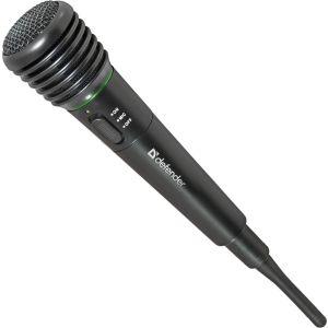 Микрофон Defender MIC-142 радиомикрофон микрофон defender mic 140 беспроводной