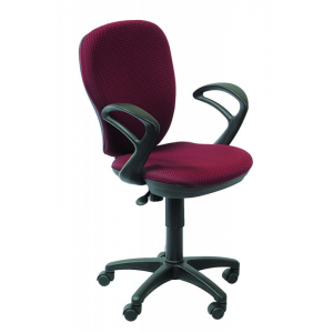 Кресло компьютерное Бюрократ CH-513AXN бордовый