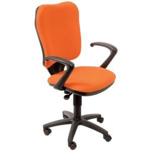 Кресло компьютерное Бюрократ CH-540AXSN оранжевый бюрократ офисное ch 540axsn tw 11 черное