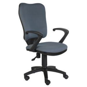 Кресло компьютерное Бюрократ CH-540AXSN серый