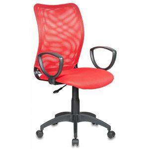 Кресло компьютерное Бюрократ CH-599/R/TW-97N красный компьютерное кресло бюрократ ch w797 r tw 97n