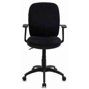 Кресло компьютерное Бюрократ CH-555 чёрный