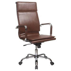 Кресло компьютерное Бюрократ CH-993 коричневый