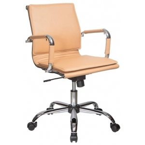 Кресло компьютерное Бюрократ CH-993-Low светло-коричневый кресло для отдыха классика светло коричневый
