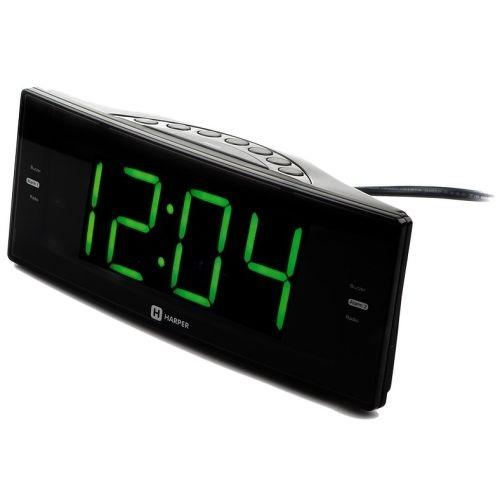 Купить со скидкой Радиоприемник с часами Harper
