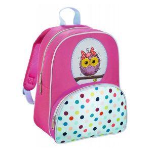 Рюкзак HAMA Sweet Owl розовый/голубой пенал hama sweet owl розовый голубой