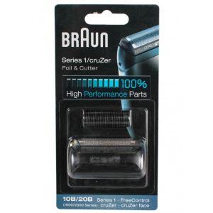 Сетка и режущий блок Braun Series 1 10B аксессуар braun series 2 cruzer 20s сетка и режущий блок