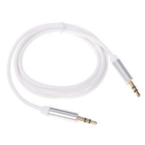Аудиокабель Pro Legend 3.5 Jack (M)-3.5 Jack (M) 2м. (PL1037) белый