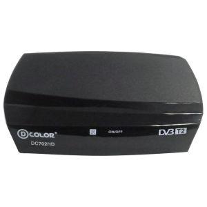 Ресивер DVB-T2 D-COLOR DC702HD тюнер dvb t2 d color dc700hd