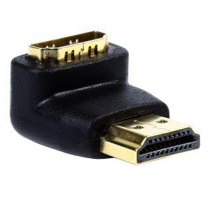 Адаптер Smartbuy HDMI M — F, угловой разъем (A111) aeg f 65410 m