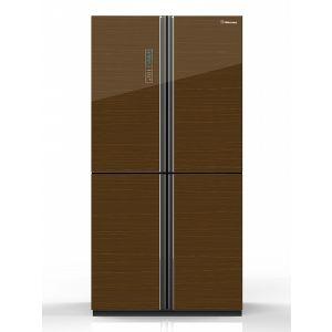Холодильник Side-by-Side Hisense RQ-81WC4SAС кофе блузка rq bl sp019bk rq bl steampunk