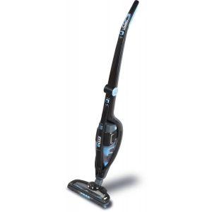 Вертикальный пылесос Polaris PVCS 0418 чёрный/голубой пылесборник для сухой уборки electrolux e210b