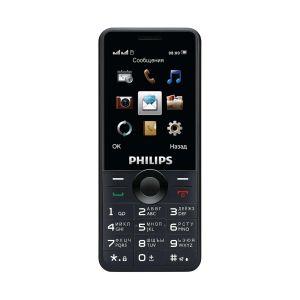 Мобильный телефон Philips Xenium E168 чёрный мобильный телефон philips xenium e 160 черный