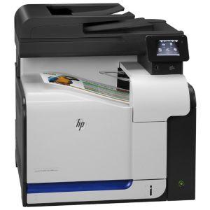 МФУ лазерное HP Color LaserJet Pro 500 MFP M570dw черный/белый цена
