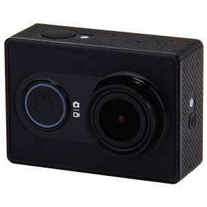 Экшн-камера Xiaomi YI + аквабокс чёрный аквабокс flama fl wp 570
