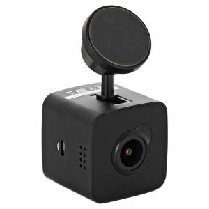 Автомобильный видеорегистратор Prestigio RoadRunner Cube чёрный