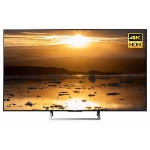 Телевизор Sony KD-75XE8596 чёрный/серебристый телевизор sony kd 75xe8596