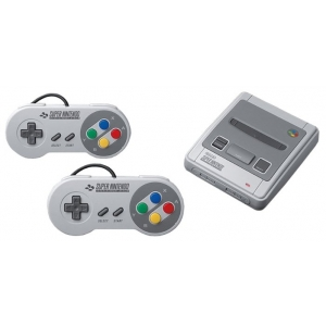 Игровая приставка Nintendo Classic Mini: Super Nintendo Entertainment System wireless controller for nintendo nes classic mini black