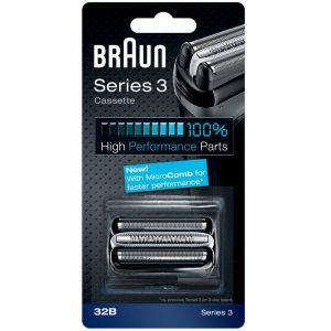 Сетка и режущий блок Braun Series 3 32B MicroComb аксессуар braun сетка и режущий блок 32b