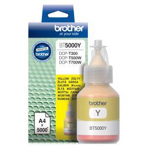 Картридж для струйного принтера Brother BT5000Y жёлтый картридж для струйного принтера brother lc567xlbk